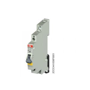 INTER LUMINEUX ABB 1F 25A AVEC LAMPE NEON 230V (E211X-25-10)