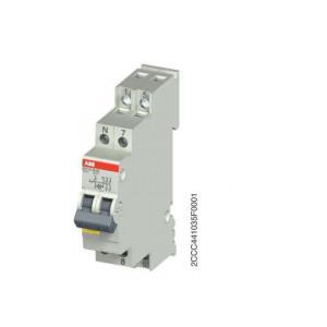 INTER LUMINEUX ABB 2F 16A AVEC LAMPE NEON 230V (E211X-16-20)