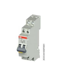 INTER LUMINEUX ABB 2F 25A AVEC LAMPE NEON 230V (E211X-25-20)