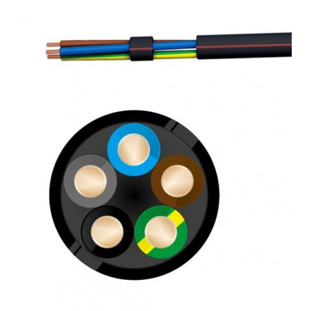 CABLE R2V 5G1.5 T500
