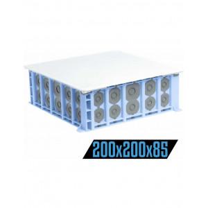 BOITE DE COMBLES 210X210X85 ETANCHES