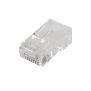 CONNECTEUR RJ45 UTP CAT 6 MÂLE (50pcs)