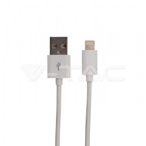 CABLE IPHONE 1.5M MFI BLANC