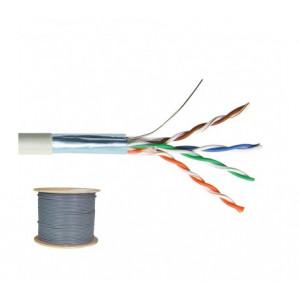 CABLE CAT5 F-UTP 4P GRIS T500
